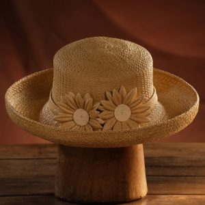Girasoles Panama Hat