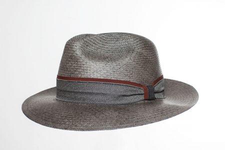 Panama Hat Cavalier Vintage negro