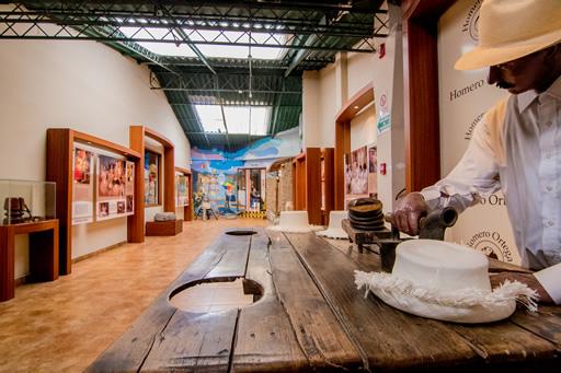 "Sala 2. Museo ""La magia del sombrero"" de la Empresa Homero Ortega."